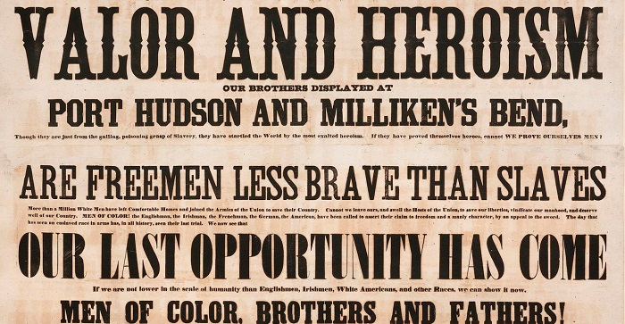 Men of Color to Arms Milliken's Bend poster